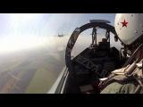 Высший пилотаж Су-27СМ и Су-34 с камер GoPro